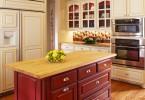 Яркие акценты в интерьере кухни
