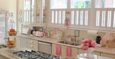 Винтажный стиль в интерьере кухни от Jennifer Hayslip