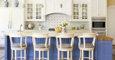 Уютный дизайн классического интерьера кухни