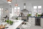 Дизайн интерера кухни в скандинавском стиле