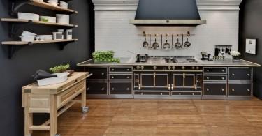Дизайн интерьера кухни известного ресторатора Майкла Симона