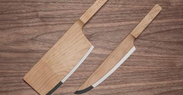 Деревянные кулинарные ножи