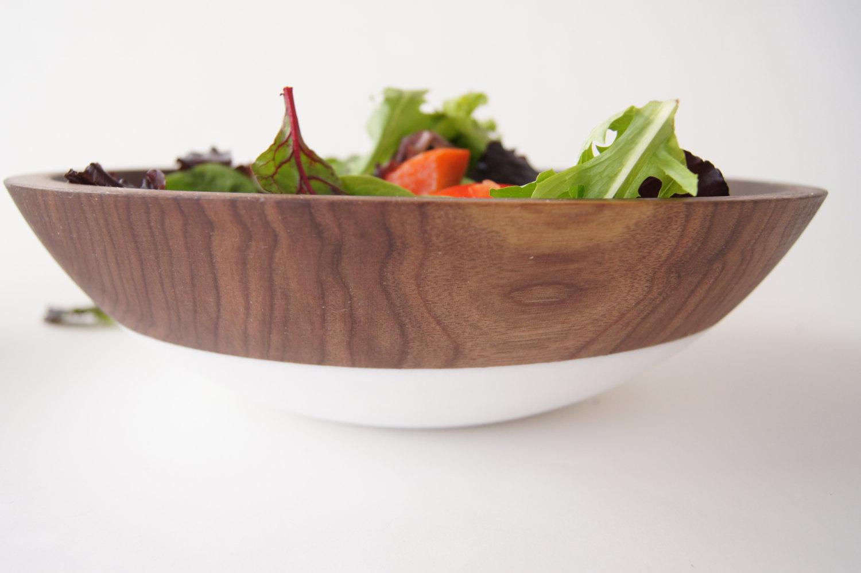Деревянная салатница