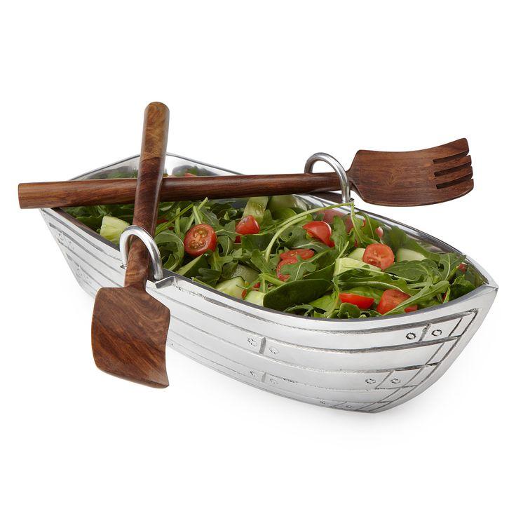 Салатница в форме лодки