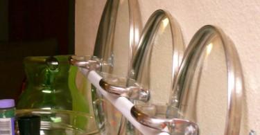 Оригинальные и невероятные приспособления для хранения сковород
