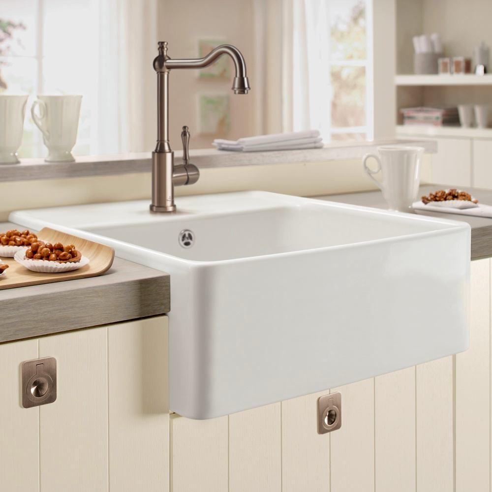 Глубокая раковина для мытья посуды