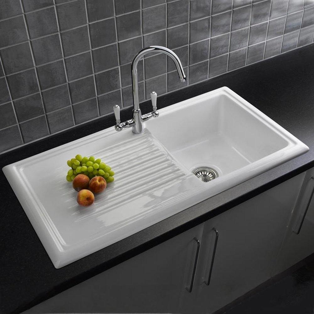 Керамическая раковина для мытья посуды