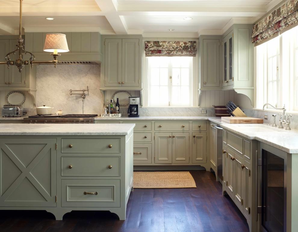 Дизайн интерьера кухни от Warmington & North