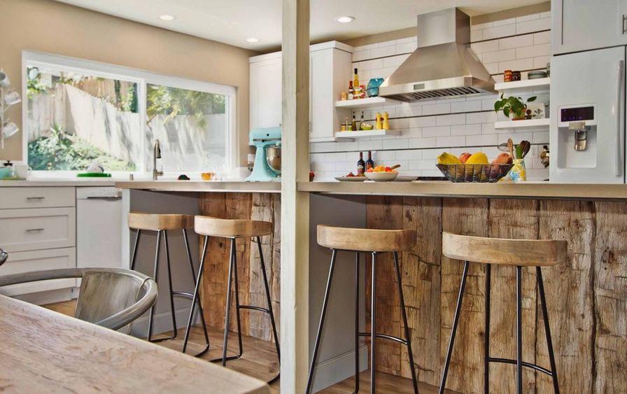 Стулья из дерева для кухни