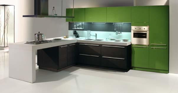 Яркий дизайн интерьера кухни от Snaidero