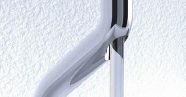 Оригинальный дизайн смесителя Virgо от faucets by Bonomi