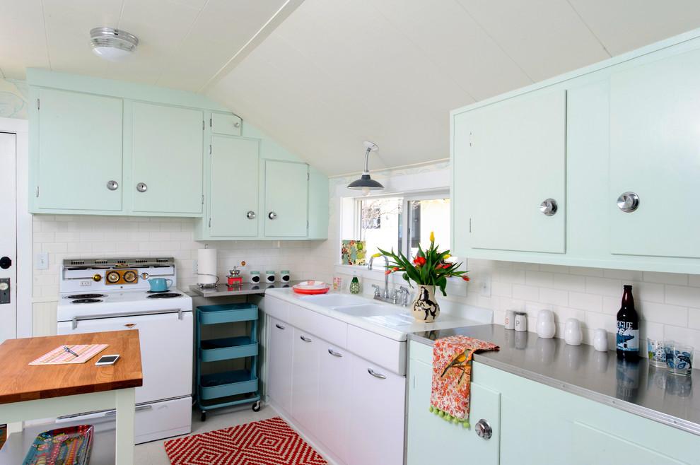 Винтажный дизайн интерьера кухни от Sara Phipps