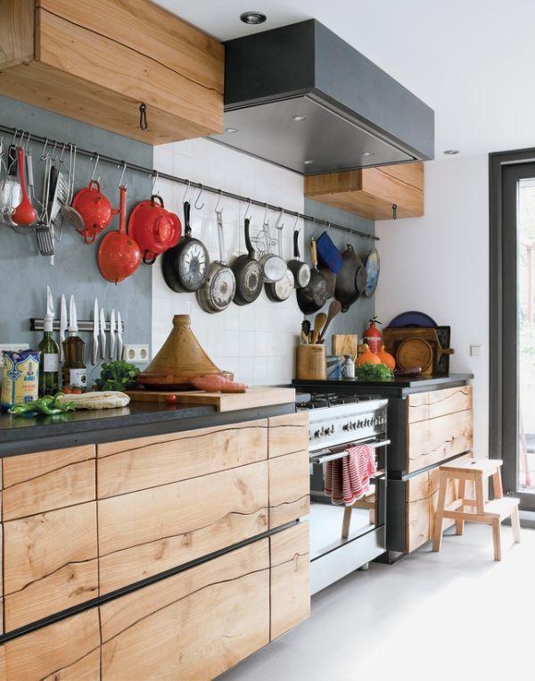 Подвесная конструкция для кухонной утвари