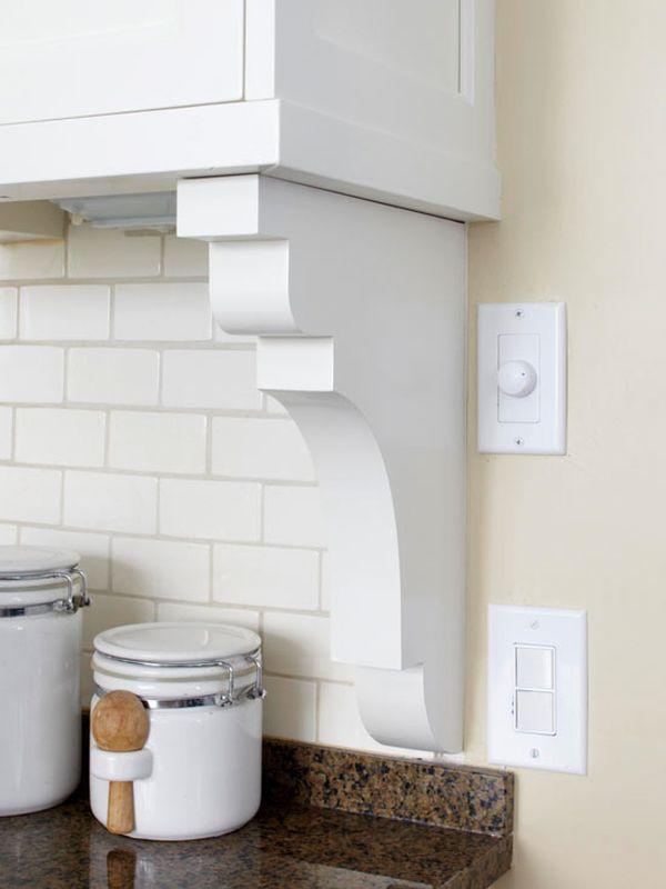 Белая плитка «метро »в интерьере кухни