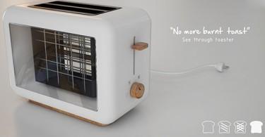 Необычный дизайн тостера