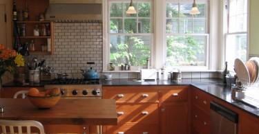 Экологичное оформление кухни от Bruce и Vinita Sidhu