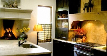 Изысканное оформление кухни от дизайнера Carole Meyer