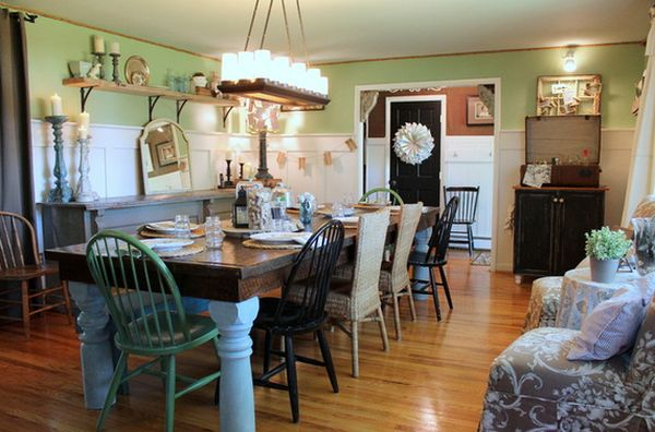 Farmhouse Dining Room Furniture  Decor  The DIY Playbook