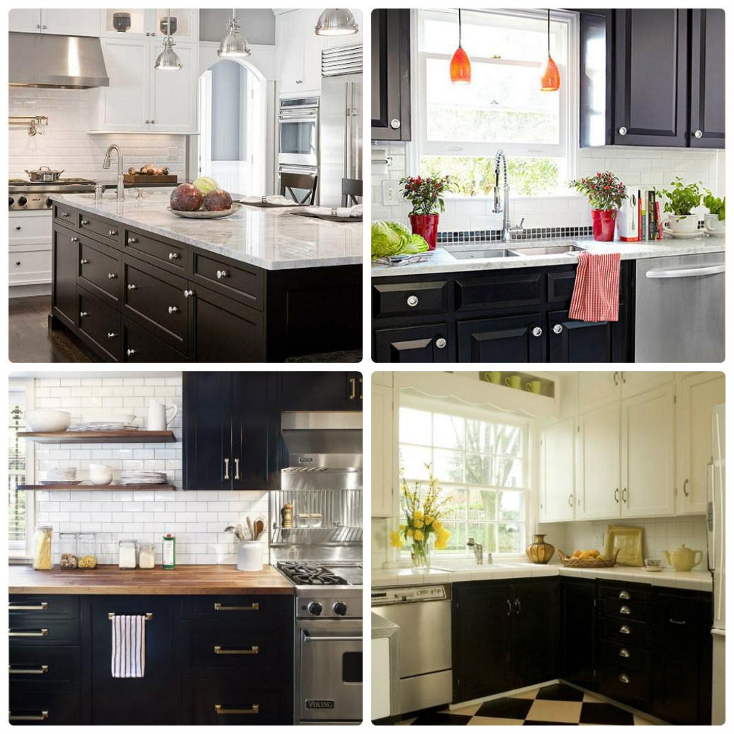 Фото черных кухонь