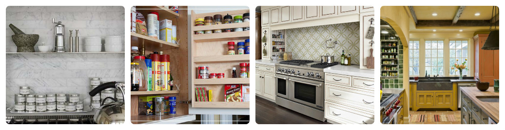 Хранение специй на кухне: практичные системы для любых интерьеров