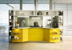 Стильный дизайн интерьера кухни Skyline от Snaidero