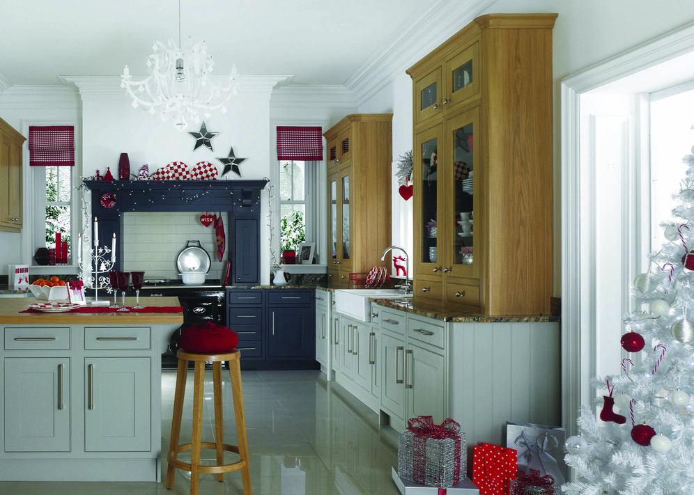Рождественская тематика на кухне