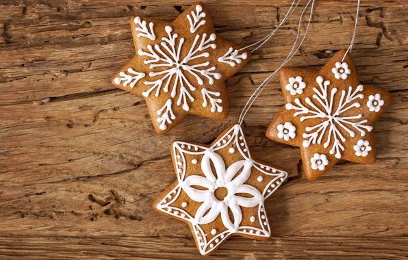 Печенье в рождественской тематике