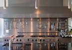 Стильный дизайн кухонной рабочей зоны от modern house architects