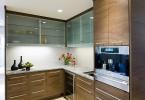 Стеклянные дверки кухонного гарнитура
