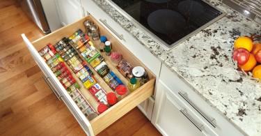Оригинальный дизайн системы хранения продуктов и кухонных принадлежностей от Rev-A-Shelf LLC