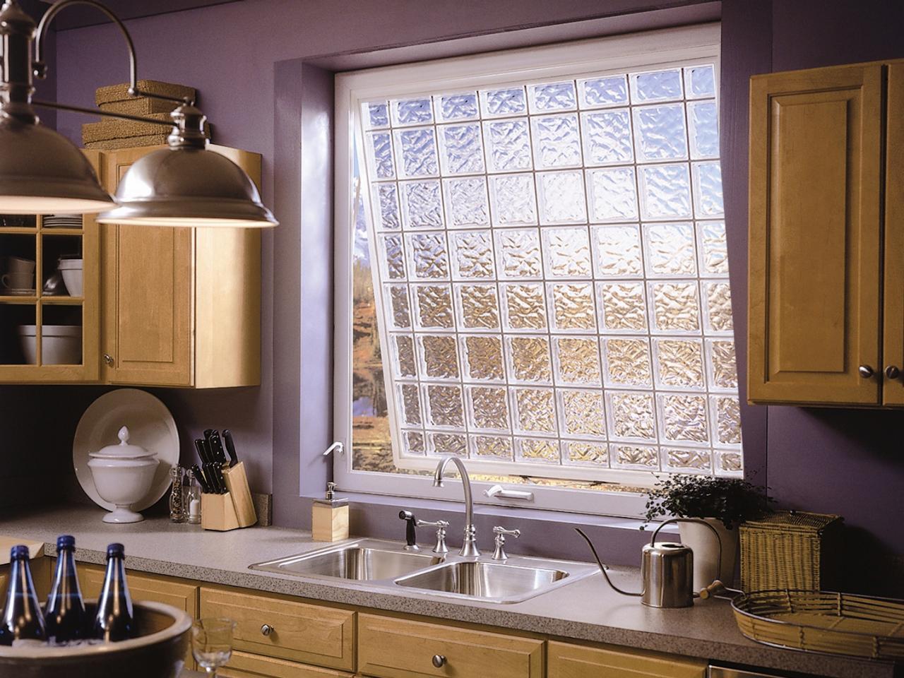 Дизайн кухонного окна