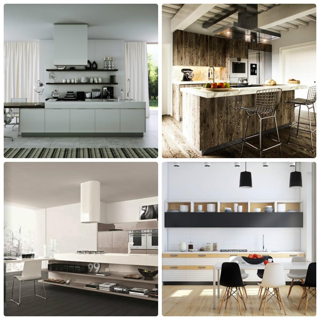 Дизайнерские кухни в современном стиле