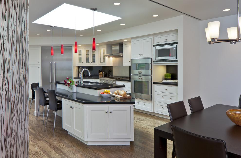 Роскошный интерьер кухонной зоны от Architect Andrew Morrall