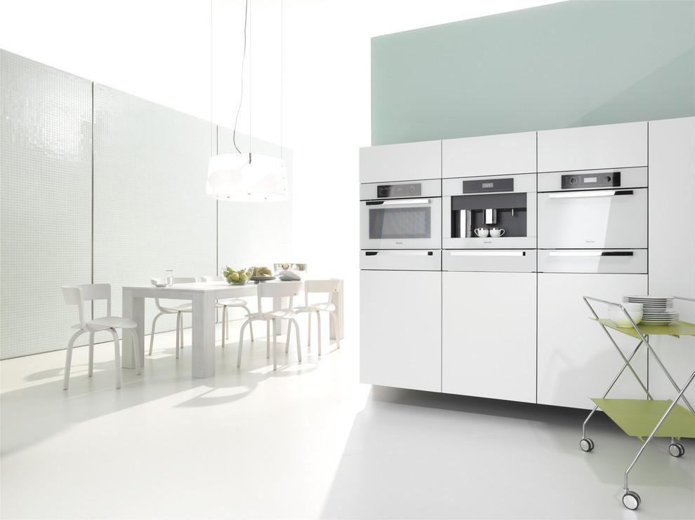 Встроенная бытовая техника в дизайне кухни от LivingKitchen