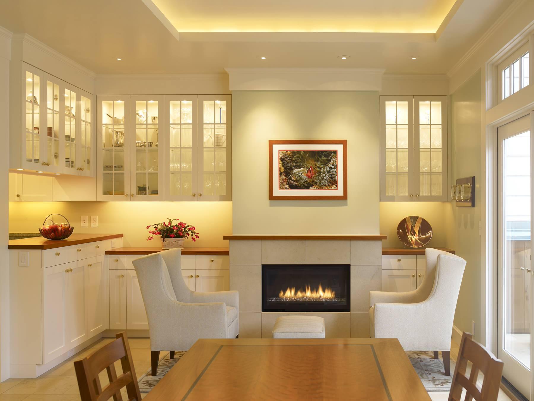 Освещение рабочей зоны на кухне светодиодными лампами