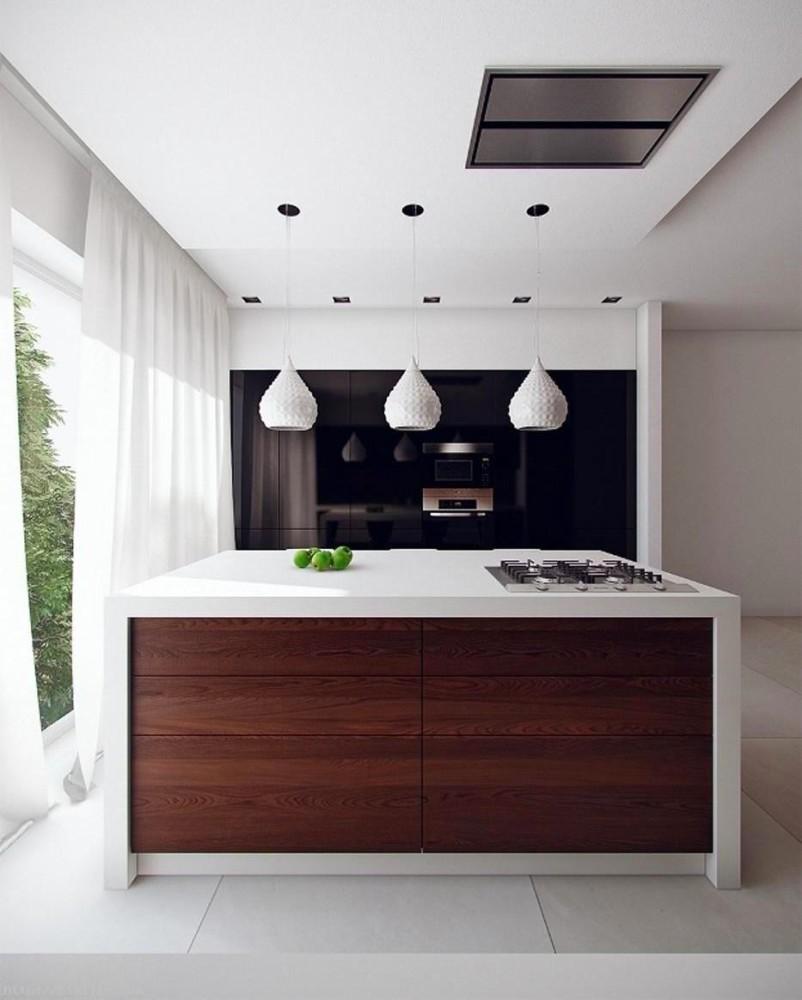 Современный стиль кухонного острова