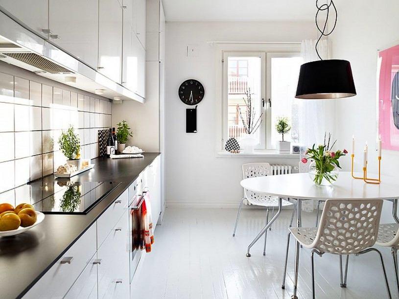 Дизайнерская мебель в белом цвете