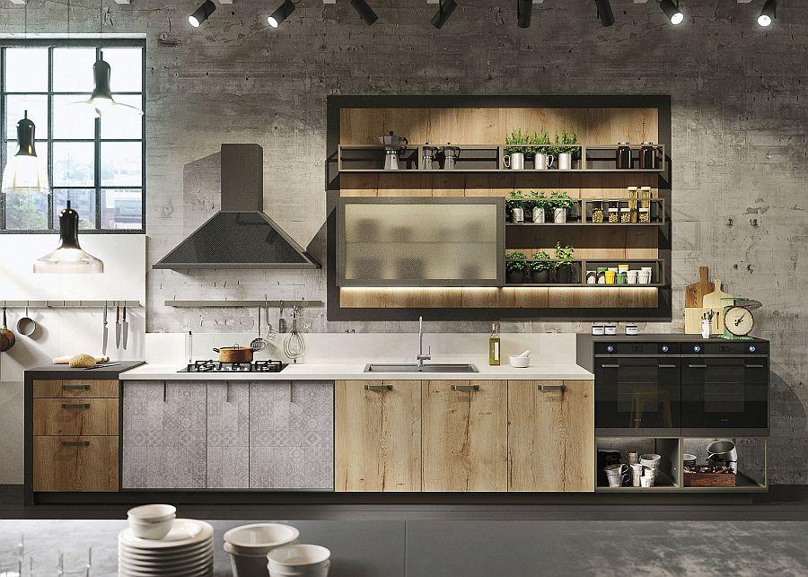 Кухонная мебель в стиле лофт своими руками 10