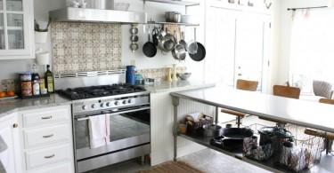 Нержавеющая сталь как атрибут современной кухни