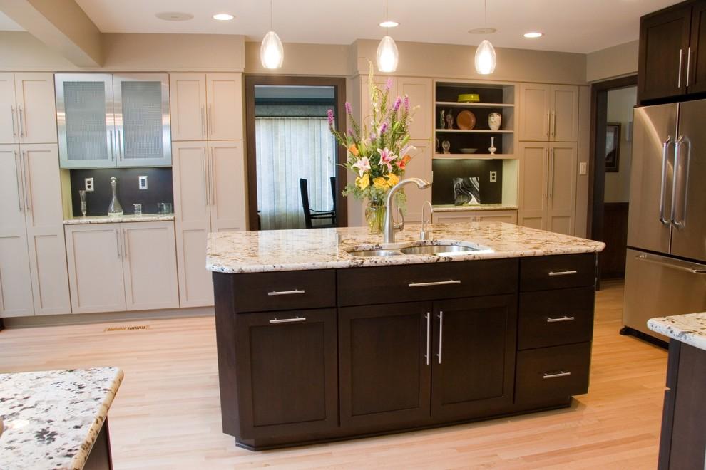 Оригинальный дизайн интерьера кухни от Carolina Kitchens
