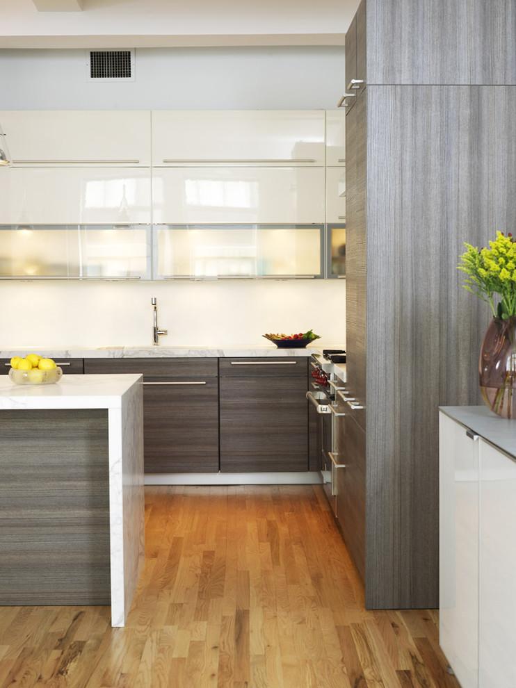Оригинальный дизайн интерьера кухни от Chelsea Atelier Architect, PC