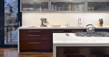 Оригинальный дизайн интерьера кухни от Bruce Wright