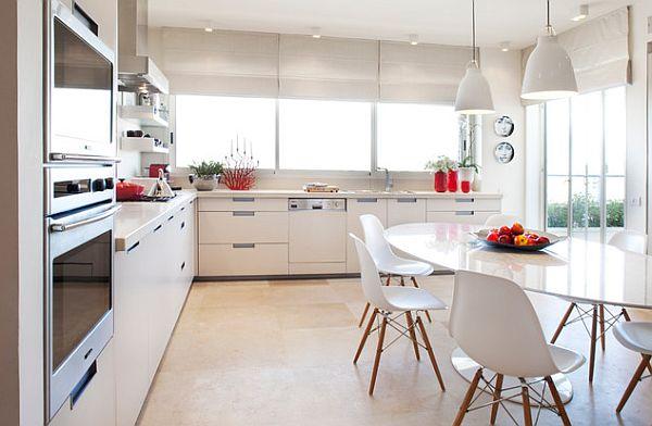 Интерьер современного кухонного стола