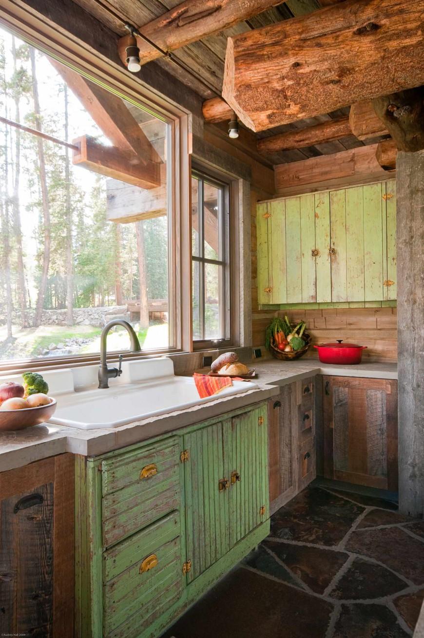 Современный дизайн кухонной раковины от Highline Partners, Ltd