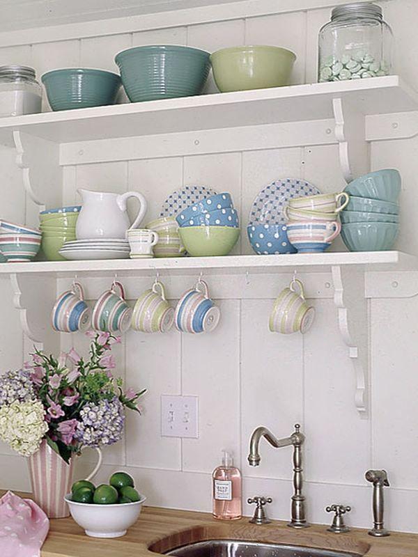 Полка для посуды на кухню своими руками