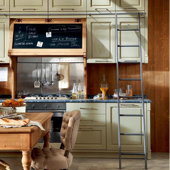 Ретро мебель на кухне