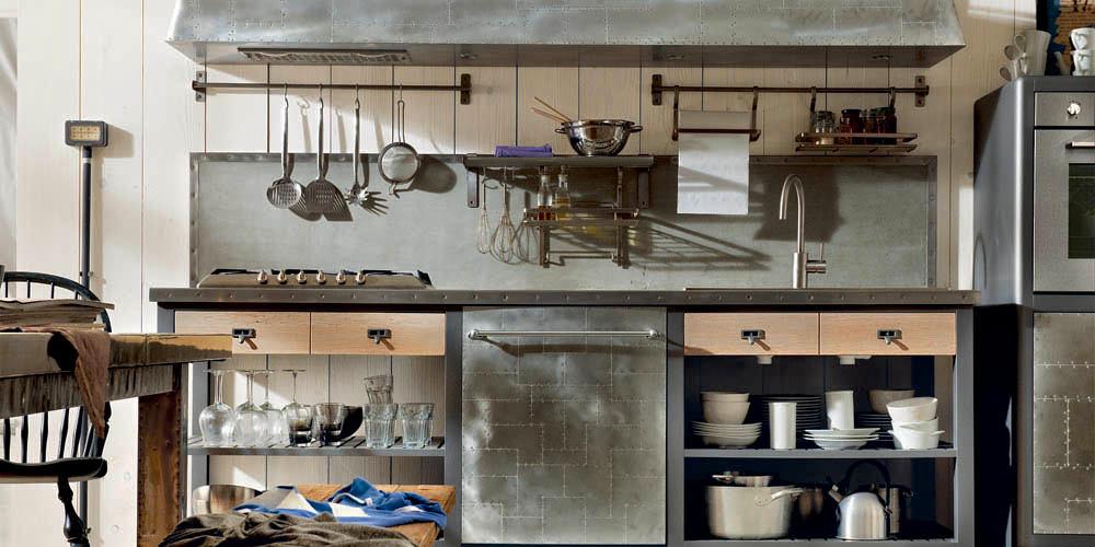 Металлические кухонные приборы