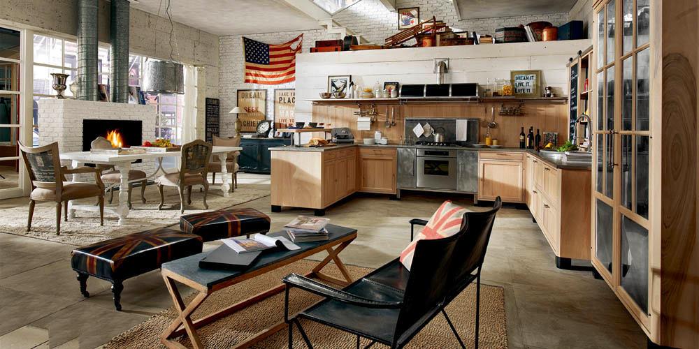 Черные кресла на кухне