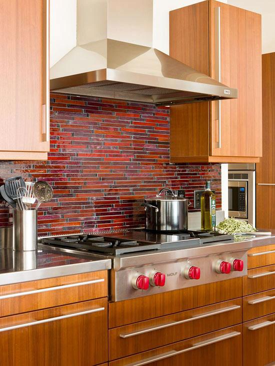 Фото пример фартука на кухне