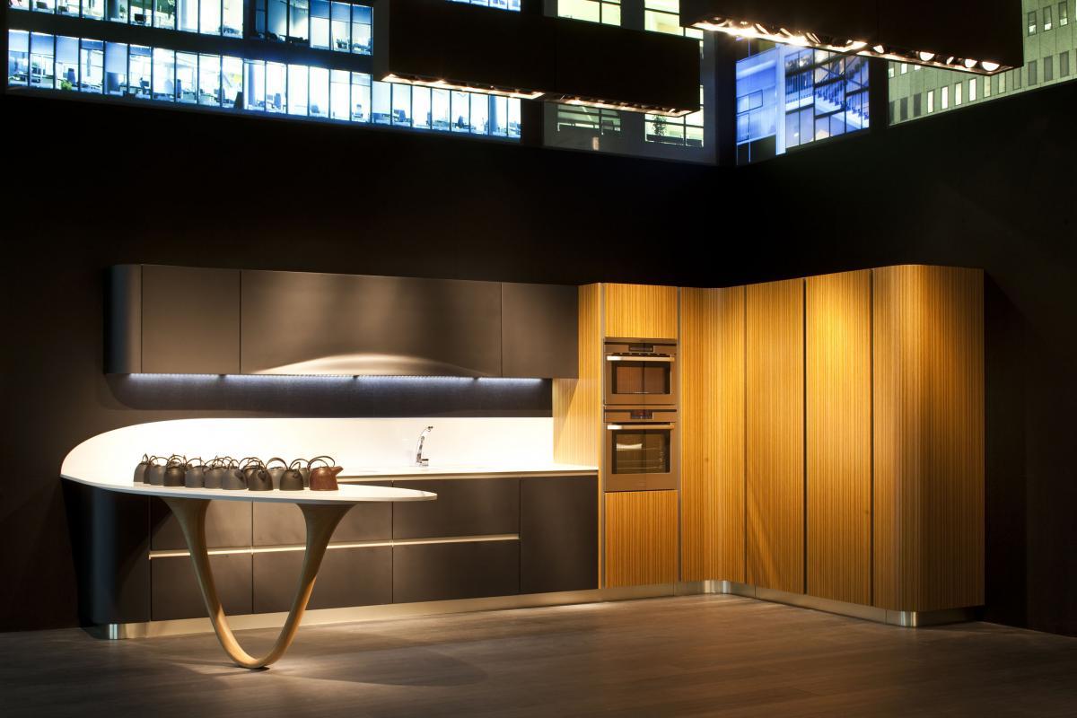 Необычный дизайн кухни фото